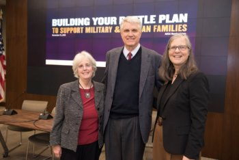 2017 Excellence in Research on Military and Veteran Families Award winners