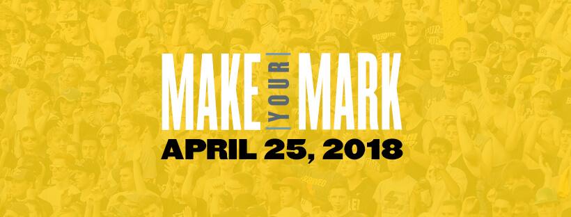 Make Your Mark April 25, 2018