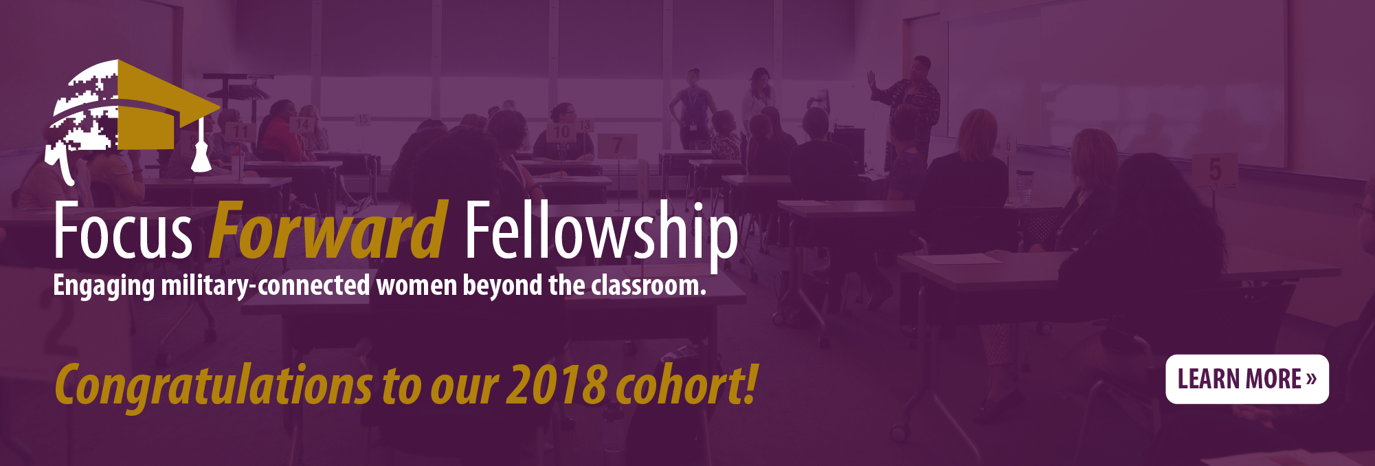 Congratulations to our 2018 cohort!