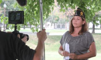 Former MFRI Associate Director speaks with news media regarding veterans' issues