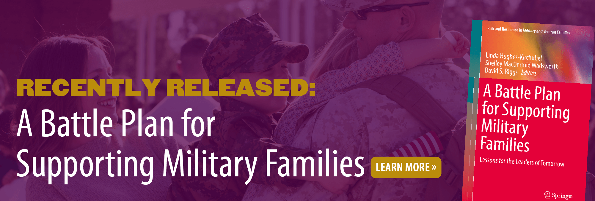 Recently released: A Battle Plan for Supporting Military Families