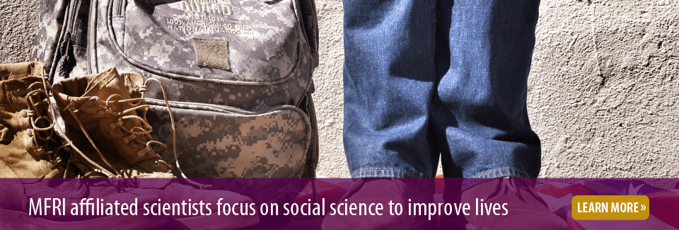 MFRI affiliated scientists focus on social science to improve lives, click to learn more