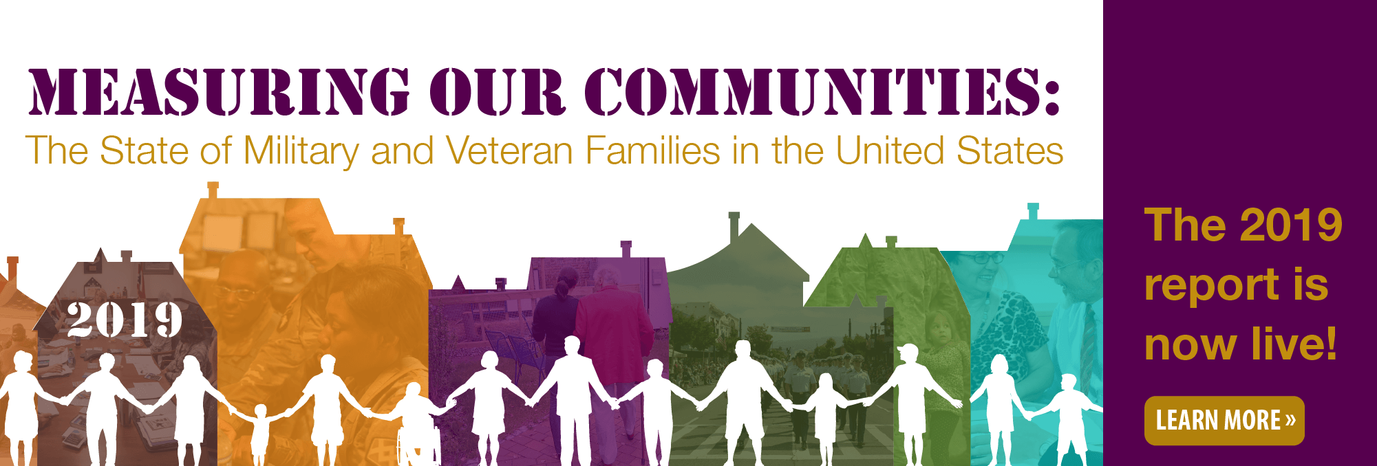 Measuring Our Communities: The State of Military and Veteran Families in the United States 2019 report is live! Learn more