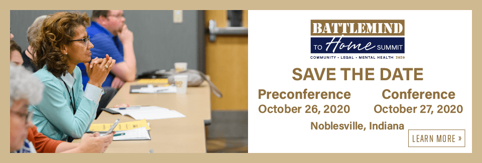 Battlemind to Home Summit 2020 Save the date Preconference October 26, 2020 Conference October 27, 2020